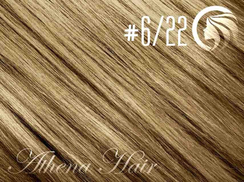 #6/22 Brown/Light Neutral Blonde – 18″ – 1 gram – iTip – Athena (25 strands per packet)