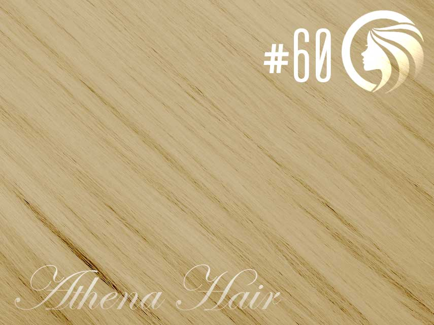*NEW* #60 Blonde – 18″ – 120g – 5 Pieces – Clip Ins Athena Hair