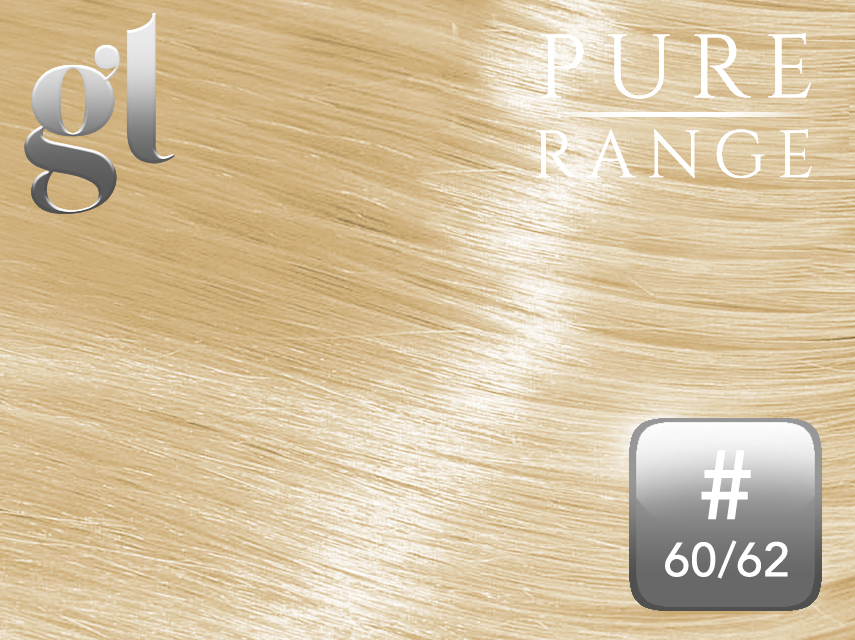 *NEW* #60/62 Blonde/Light Ash Blonde Pure Range 150g 18