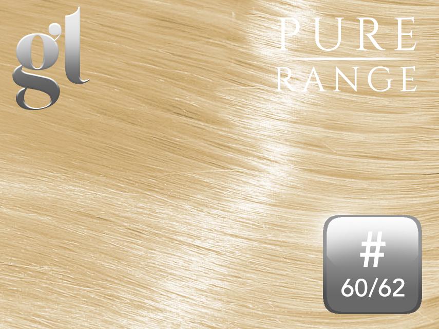 *NEW* #60/62 Blonde/Light Ash Blonde – 20″ - 0.8 gram – iTip - Pure Range Highlight (25 Strands)