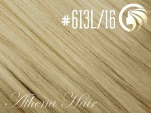 #613L/16 Light Bleach Blonde/Ash Blonde – 18″ – 1 gram – Nano Tip – Athena (25 strands per packet)