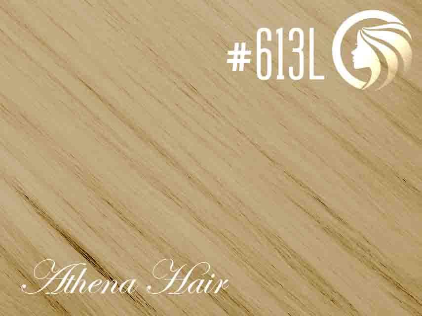 #613L Light Bleach Blonde – 18″ – 1 gram – iTip – Athena (25 strands per packet)