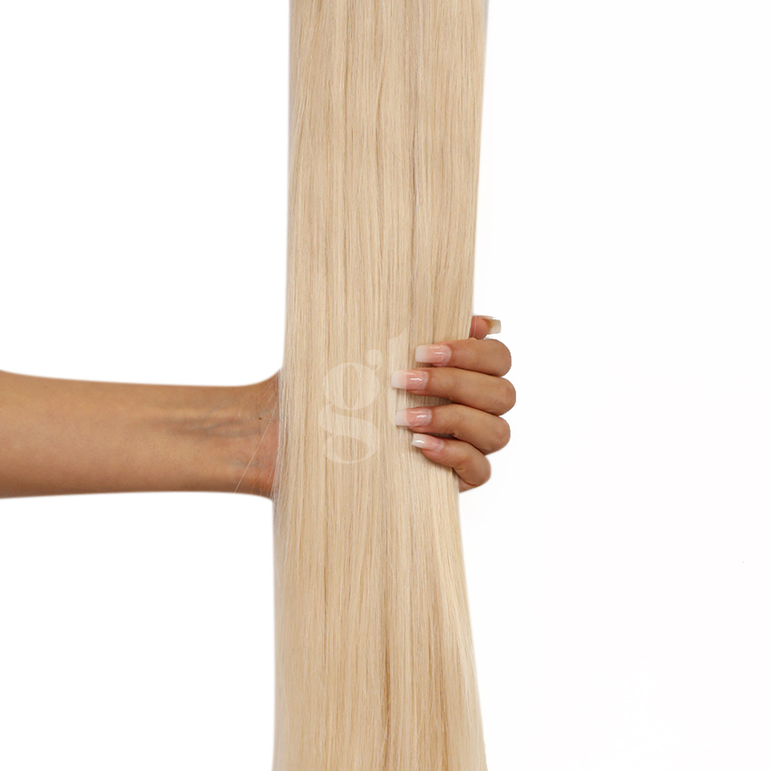 #62 Light Ash Blonde – 20″ – 1g – iTip – Russia Range (50 strands)