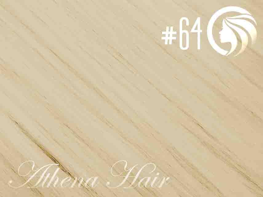 #64 Champagne Blonde – 18″ – 1 gram – iTip – Athena (25 strands per packet)