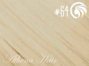 #64 Champagne Blonde – 18″ – 1 gram – Nano Tip – Athena (25 strands per packet)