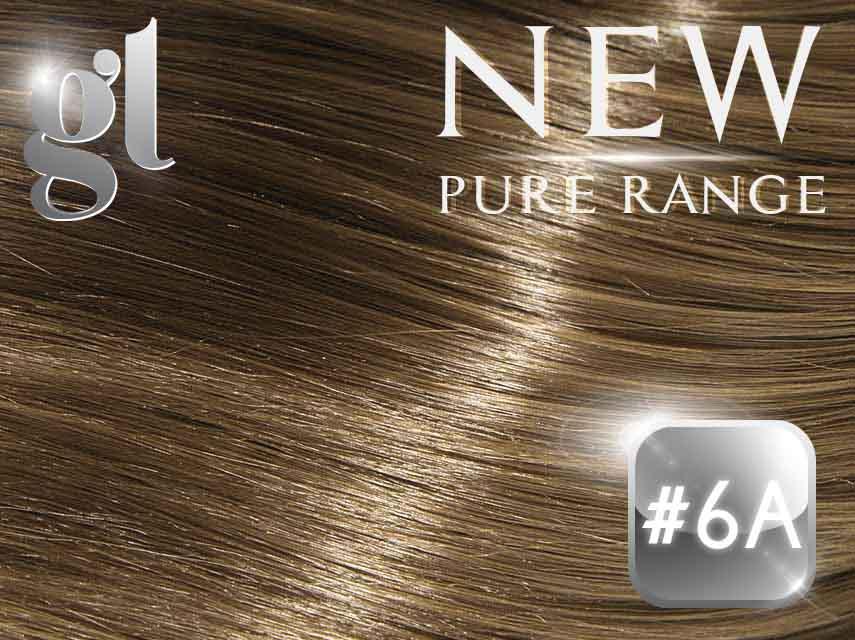 #6A Medium Ash Brown - Nano tip - 18
