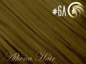 #6A Medium Ash Brown – 18″ – 1 gram – Nano Tip – Athena (25 strands per packet)