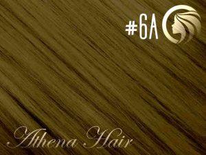 #6A Medium Ash Brown – 18″ – 1 gram – Nano Tip – Athena (25 strands)
