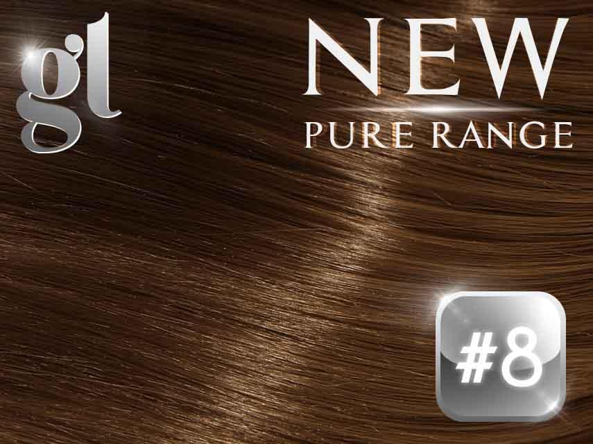 #8 Medium Brown Pure Range 150g 18