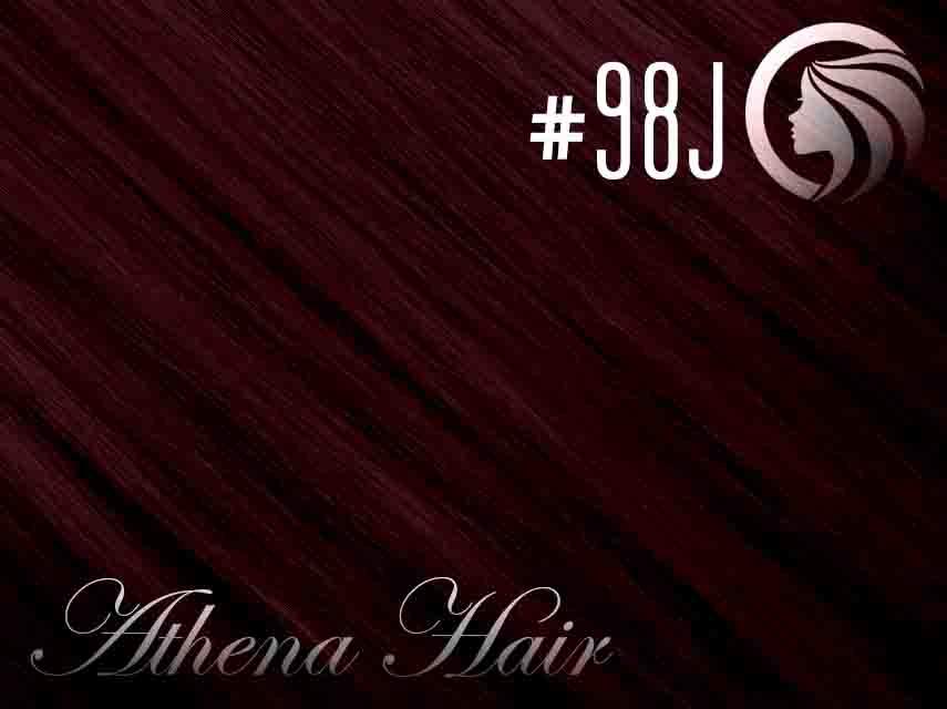 #98J Mahogany – 18″ – 1 gram – iTip – Athena (25 strands per packet)