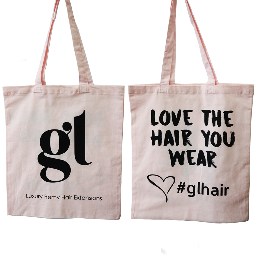 *NEW* GL Hair Baby Pink Tote Bag