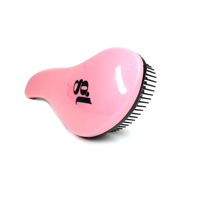 GL PINK SMALL DETANGLE HANDBAG BRUSH