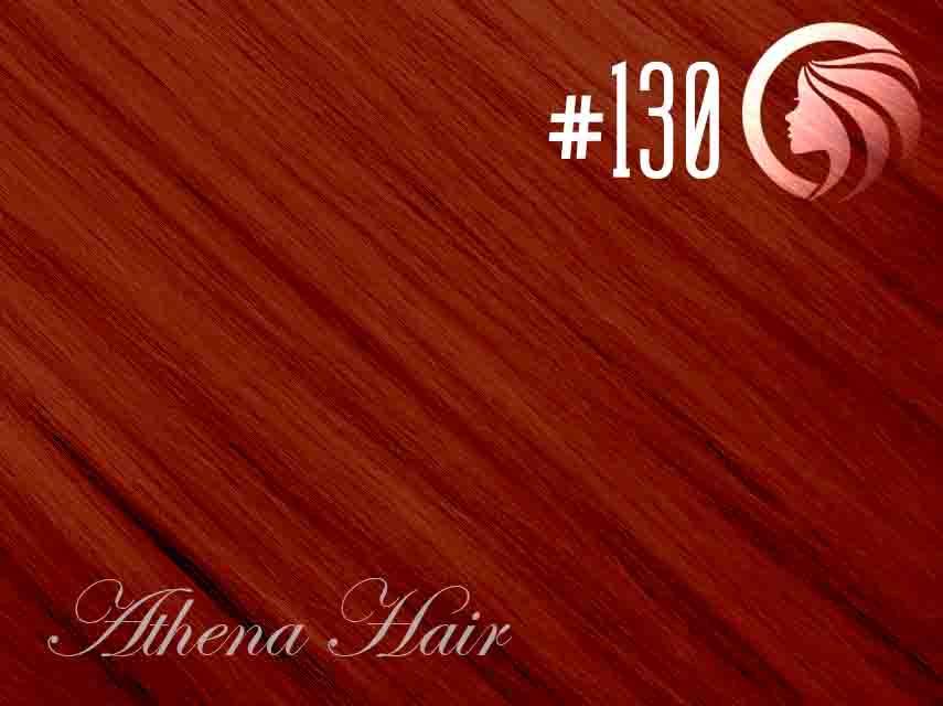 #130 Red – 18″ – 0.5 gram – iTip – Athena (50 strands per packet)