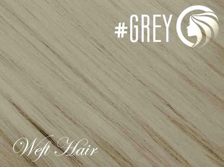#Grey – 18″ – 120 gram – Athena Weft