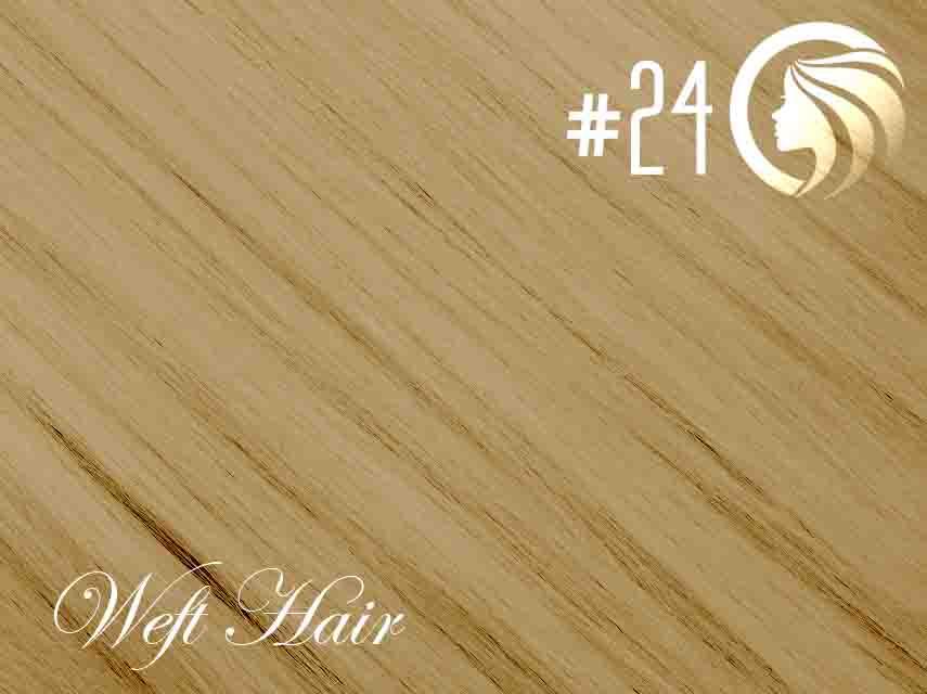 #24 Golden Blonde – 18″ – 120 gram – Athena Weft