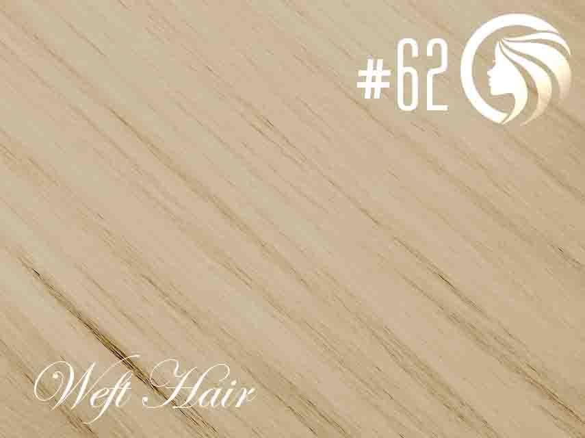 #62 Light Ash Blonde – 18″ – 120 gram – Athena Weft