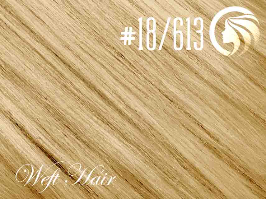 #18/613 Honey Blonde/Blonde – 18″ – 120 gram – Athena Weft