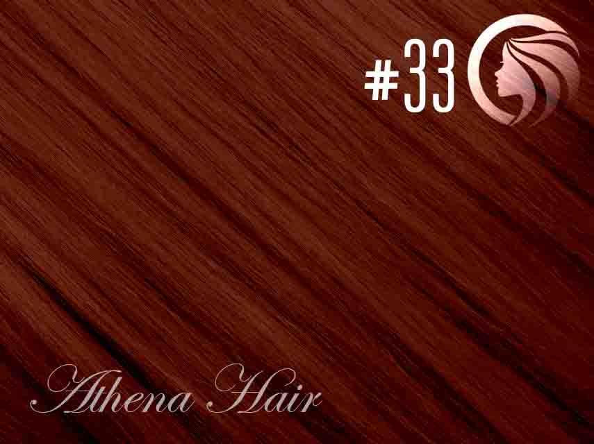 #33 Copper Red – 18″ – 0.5 gram – iTip– Athena (50 strands per packet)