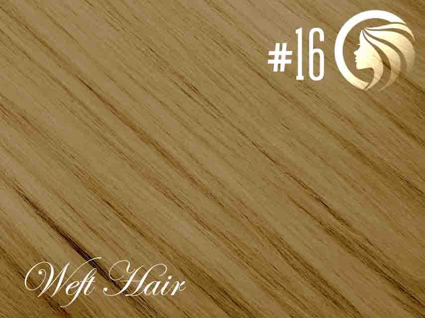 #16 Ash Blonde – 18″ – 120 gram – Athena Weft