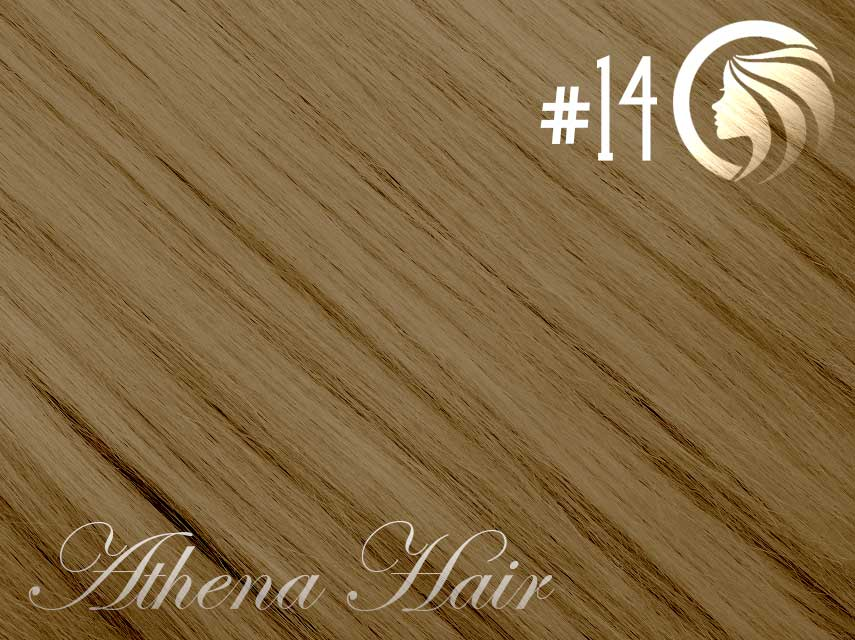 #14 Dark Blonde – 18″ – 0.5 gram – iTip – Athena (50 strands per packet)