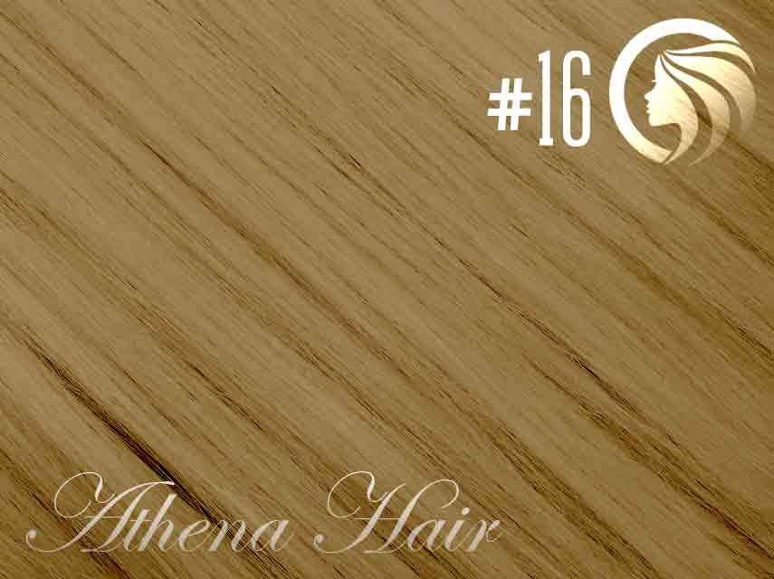 #16 Ash Blonde – 18″ – 1 gram – Nano Tip - Athena (25 strands)