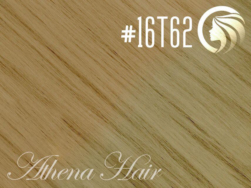 *NEW* #16T62 Ash Blonde/Light Ash Blonde – 22″ – 60 gram – 24 Pieces – Athena Tape Hair Ombre