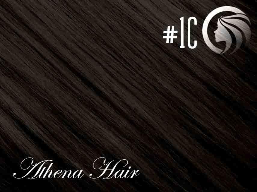 *NEW* #1C Espresso Brown – 18″ – 120g – 5 Pieces – Clip Ins Athena Hair