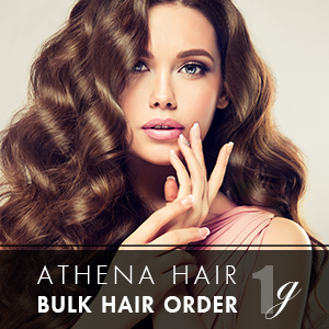 Athena 1g 500 strands – Bulk Hair Order – 18inch (Free Argan Oil)