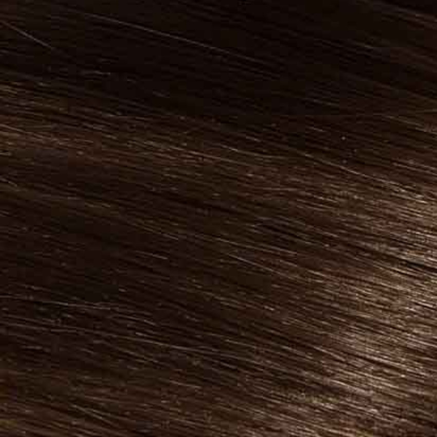 #2 Dark Brown – 18″ – 1g – Nano Tip - Athena (25 strands)