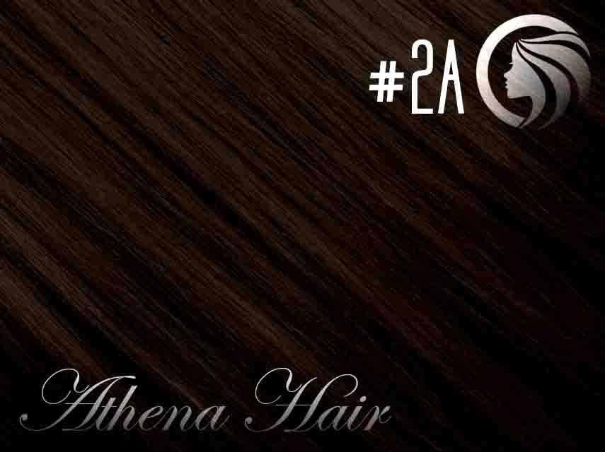 *NEW* #2A Dark Ash Brown – 22″ – 60 gram – 24 Pieces – Athena Tape Hair