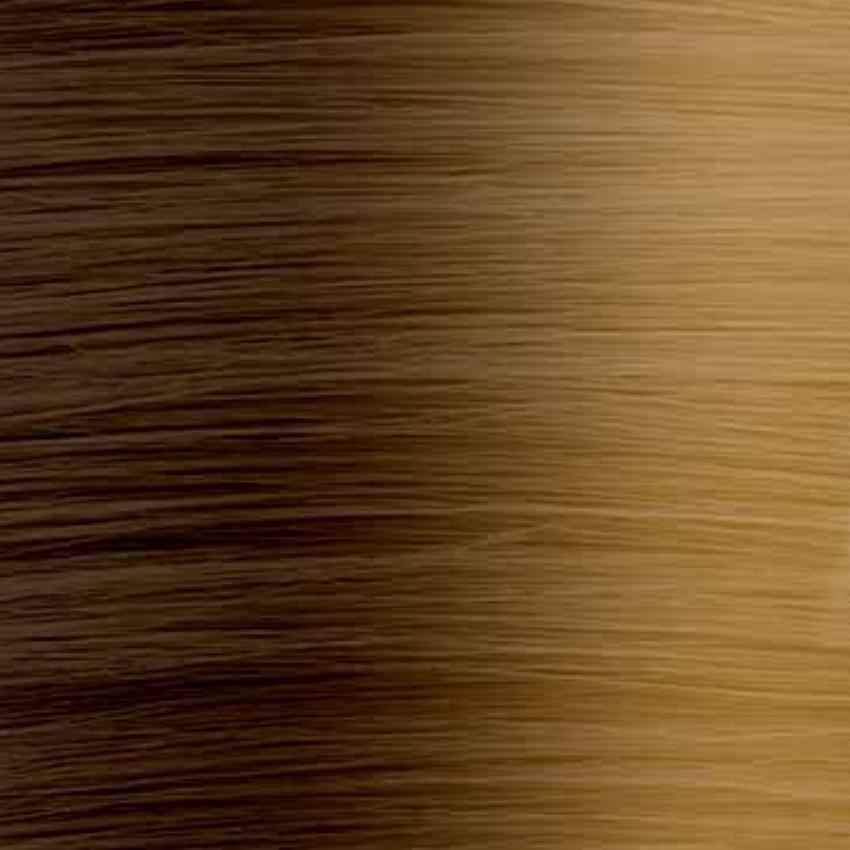 #2T27 Dark Brown/Strawberry Blonde - Nano tip - 20″ - 0.8g – Pure Range (25 Strands)