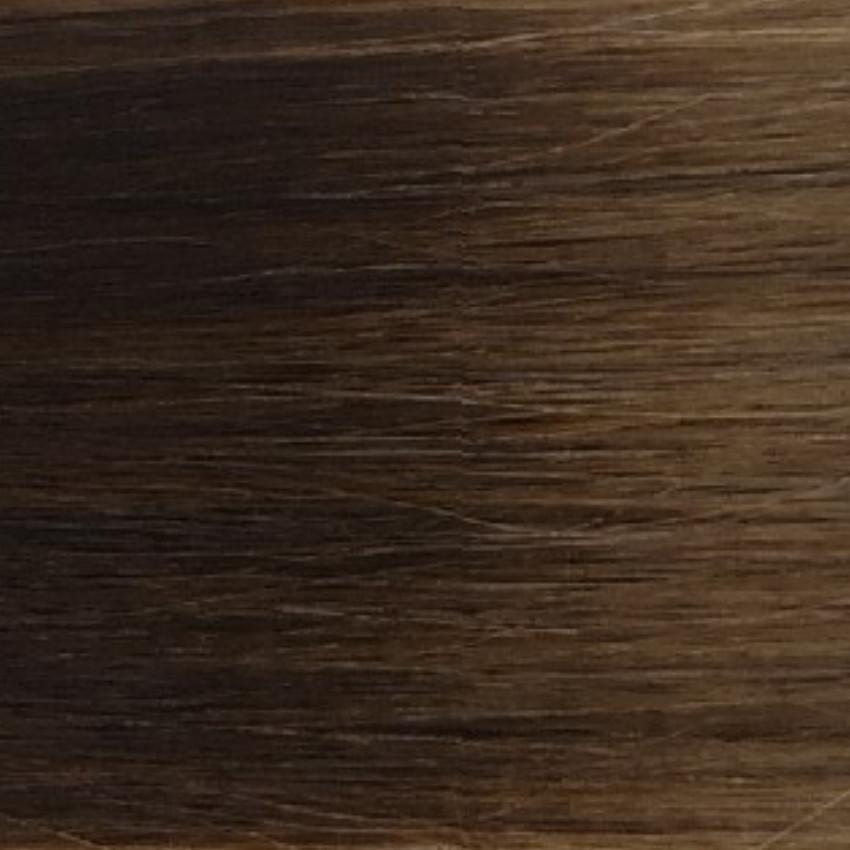#2T8 Dark Brown/Medium Brown - Nano tip – 20″ - 0.8g – Pure Range (25 Strands)