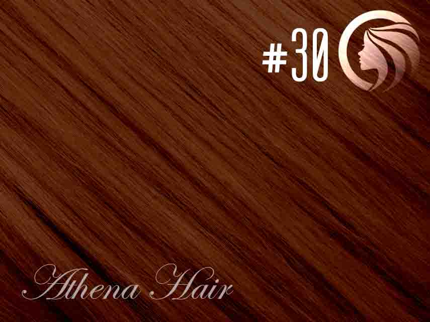 #30 Light Auburn – 22″ – 60 gram – 24 Pieces – Athena Tape Hair