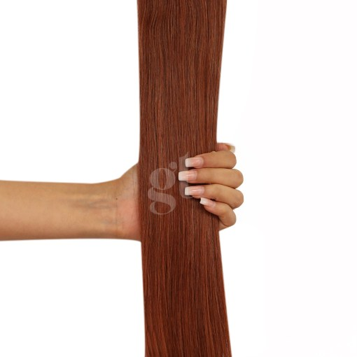 #33 Copper Red  – 22″ – 120g – Weft – Athena