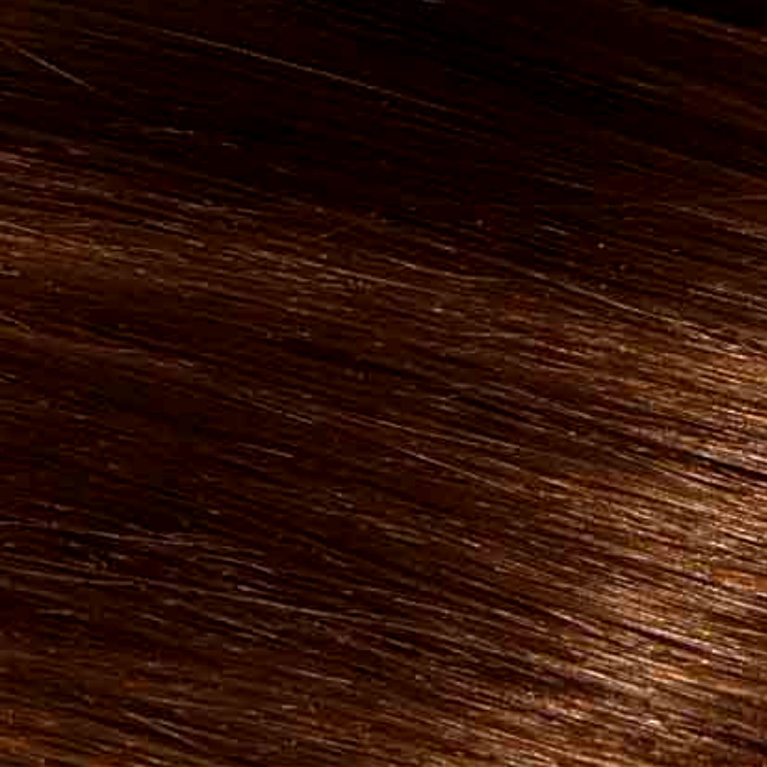 #4 Chocolate Brown – 20″ - 0.8g – iTip - Pure Range (25 Strands)