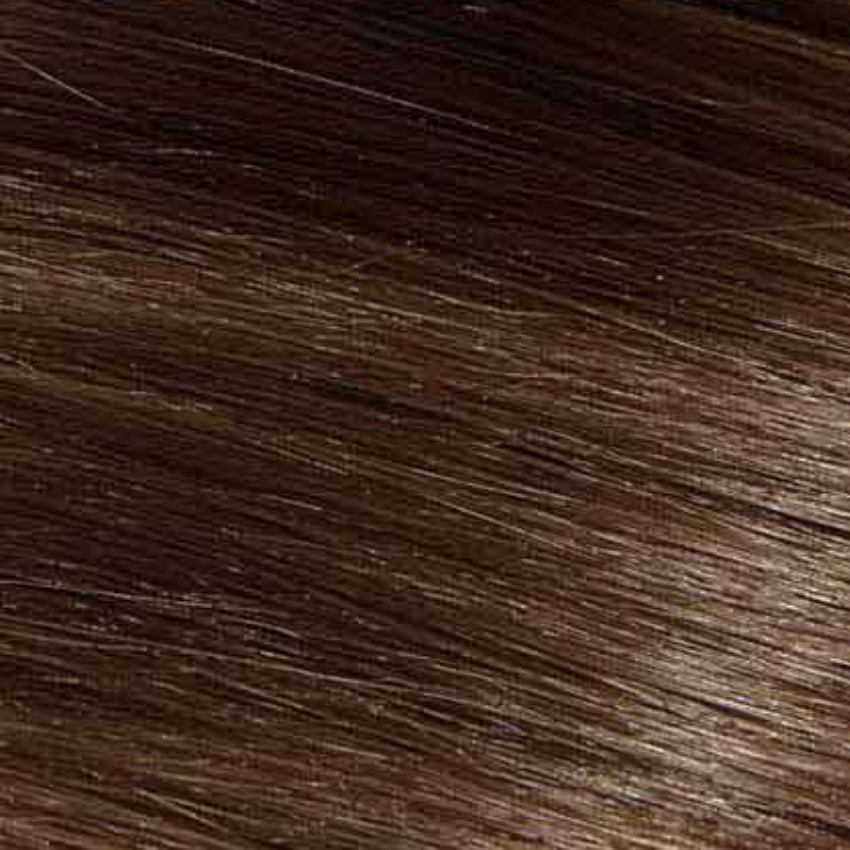#4A Ash Chocolate Brown – 20″ - 0.8g – iTip - Pure Range (25 Strands)