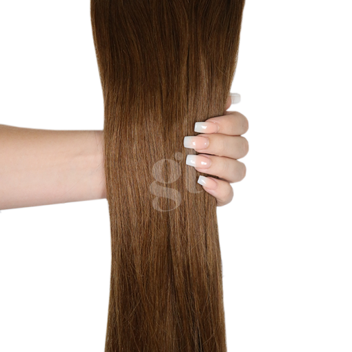 #5 Medium Ash Brown – 22″ – 60g – 24pcs – Athena Tape Hair