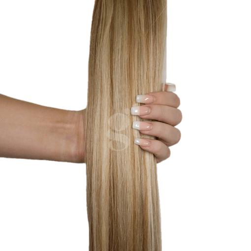 #613L/13 Light Bleach Blonde/Light Golden Blonde - 18 - 150g - Weft - Pure Range