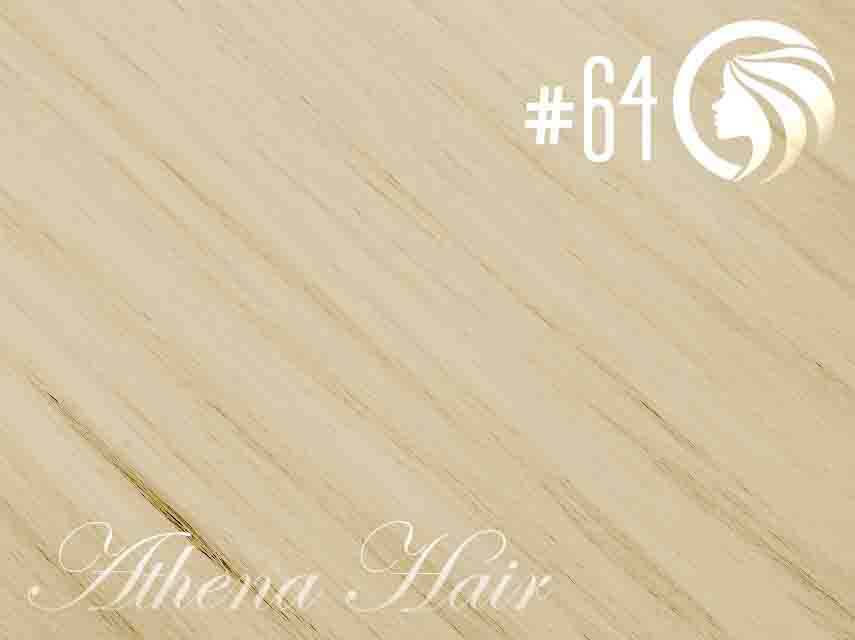 #64 Champagne Blonde – 22″ – 60 gram – 24 Pieces – Athena Tape Hair