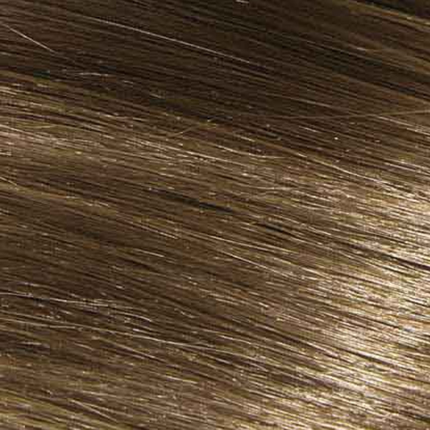 #6A Medium Ash Brown – 20″ - 0.8g – iTip - Pure Range (25 Strands)