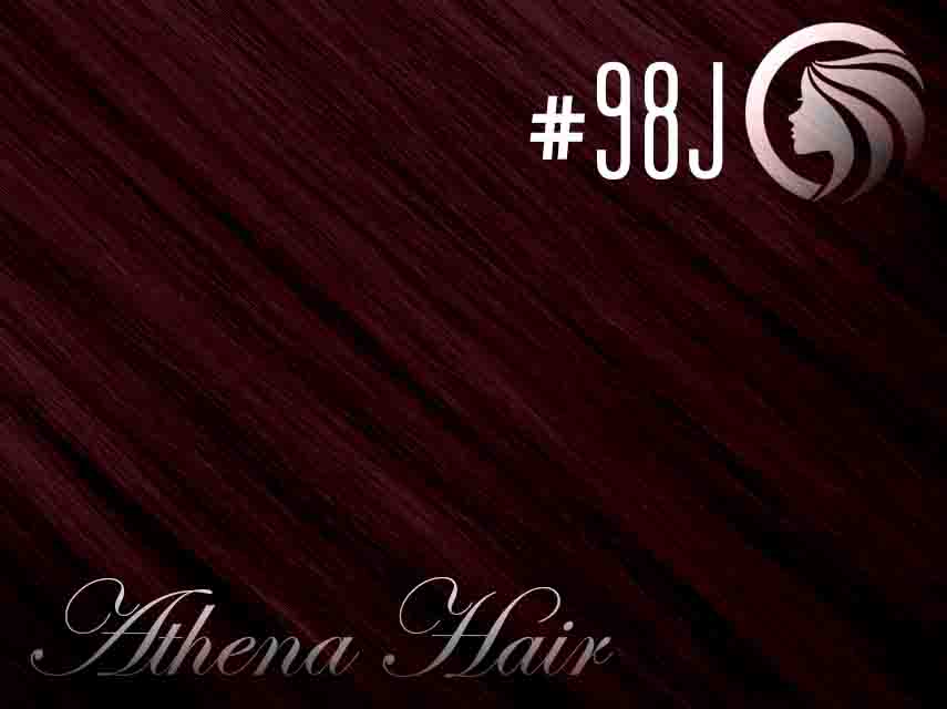*NEW* #98J Mahogany – 22″ – 60 gram – 24 Pieces – Athena Tape Hair