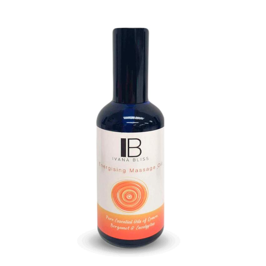 *NEW* Energising Massage Oil - Ivana Bliss (100ml)
