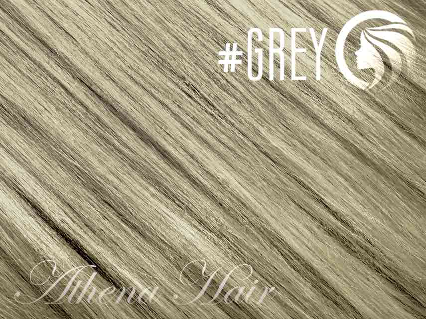 #Grey – 18″ – 0.5 gram – uTip – Athena (50 strands per packet)
