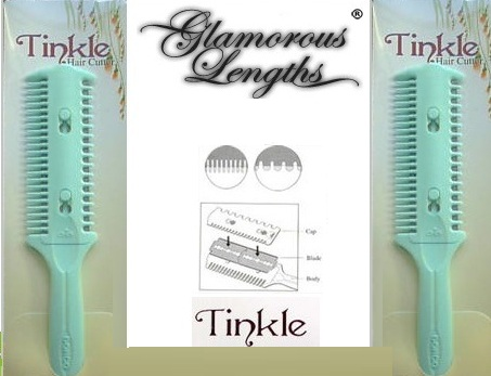 Tinkle Razor Hair Trimmer Comb Cutter
